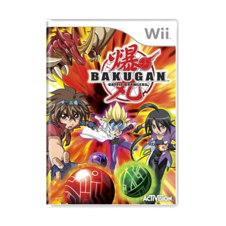 Jogo Bakugan - Battle Brawlers - Wii