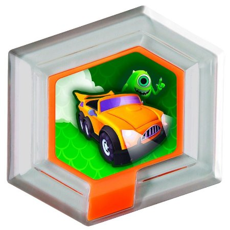 Disco Hexagonal Disney Infinity: Mike Wazowski
