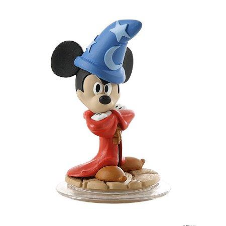 Boneco Disney infinity: Mickey aprendiz de feiticeiro