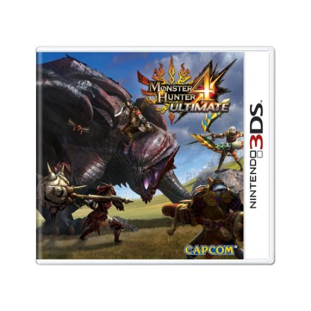 Jogo Monster Hunter 4: Ultimate - 3DS