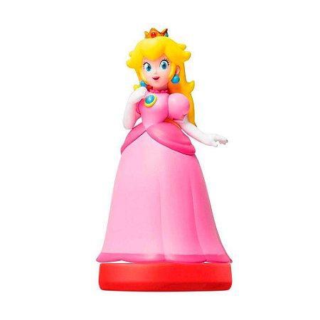 Nintendo Amiibo: Peach - Super Mario - Wii U e New Nintendo 3DS