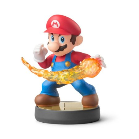 Nintendo Amiibo: Mario - Super Smash Bros - Wii U e New Nintendo 3DS
