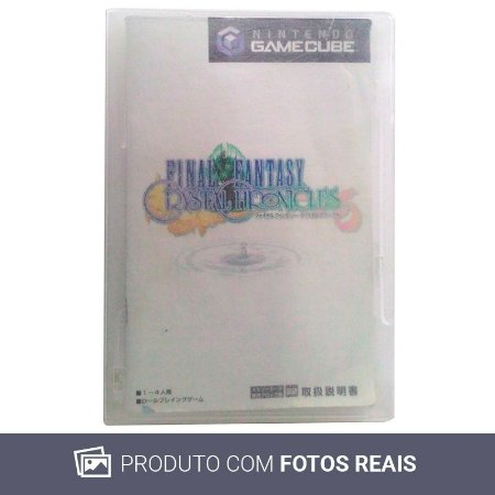 Jogo Final Fantasy: Crystal Chronicles [Japonês] - GC (Sem Capa)