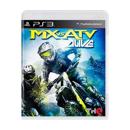 Jogo MX vs. ATV Alive - PS3