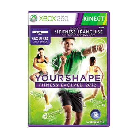 Jogo Your Shape Fitness Evolved 2012 - Xbox 360