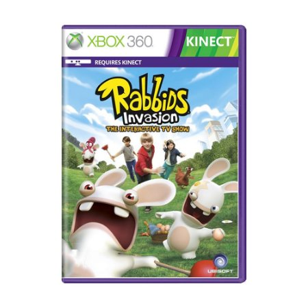 Jogo Rabbids Invasion: The Interactive TV Show - Xbox 360