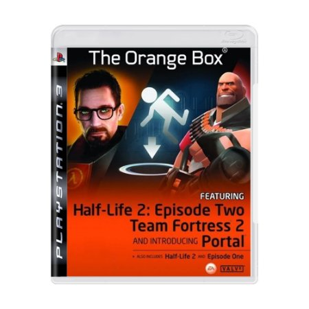 Jogo The Orange Box Half-Life 2: Episode Two Team Fortress 2 - PS3