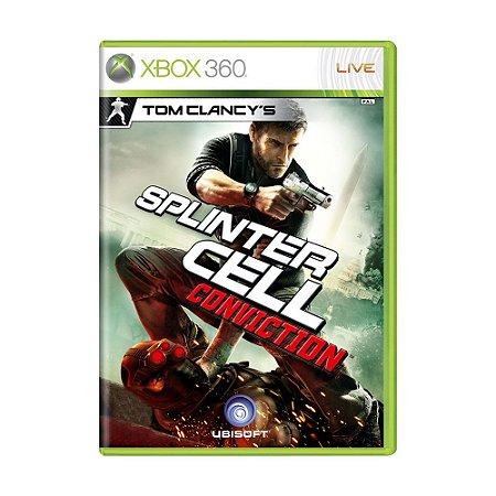 Jogo Tom Clancy's: Splinter Cell Conviction - Xbox 360