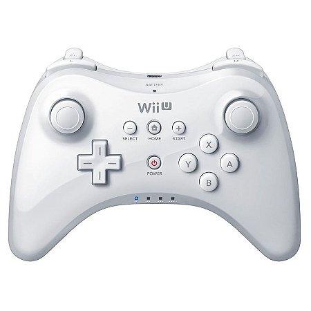 Pro Controller Branco Nintendo - Wii U