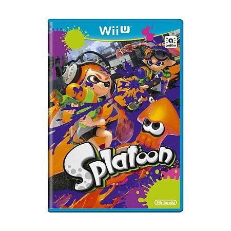 Jogo Splatoon - Wii U