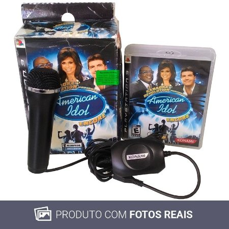 Jogo Karaoke Revolution Presents: American Idol Encore - PS3