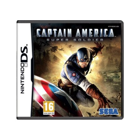 Jogo Captain America: Super Soldier - DS