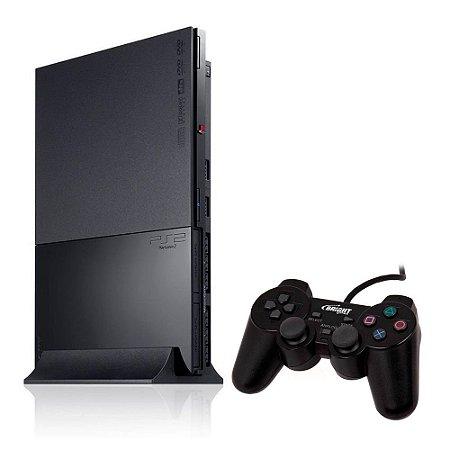Console PlayStation 2 Super Slim Preto - Sony