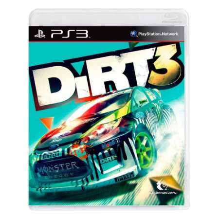 Jogo Dirt 3 - PS3