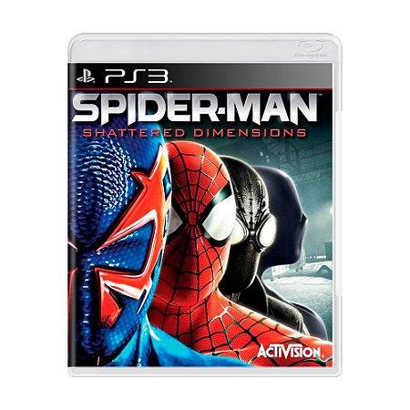 Jogo Spider-Man: Shattered Dimensions - PS3