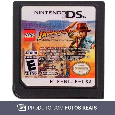 Jogo LEGO Indiana Jones 2: The Adventure Continues - DS