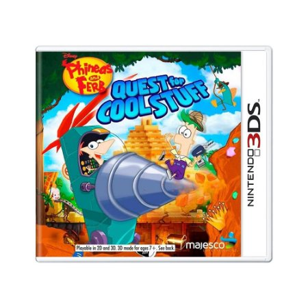 Jogo Phineas and Ferb: Quest for Cool Stuff - 3DS