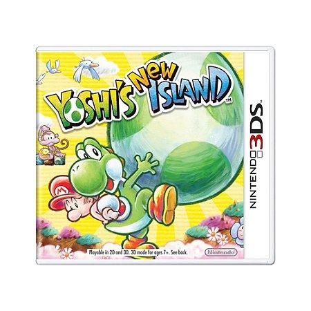 Jogo Yoshi's New Island - 3DS