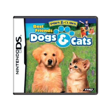 Jogo Paws & Claws: Dogs & Cats Best Friends - DS