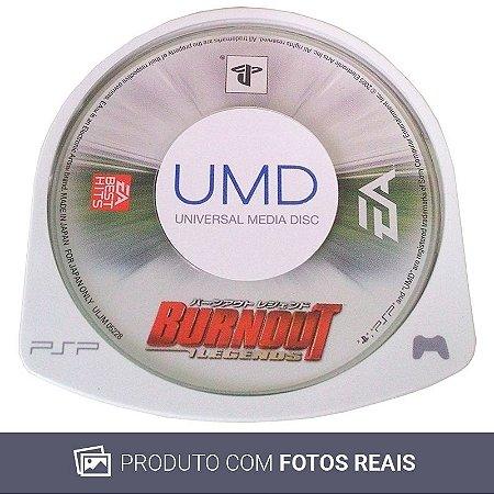 Jogo Burnout Legends - PSP