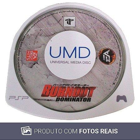 Jogo Burnout Dominator - PSP [Japonês]