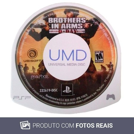 Jogo Brothers In Arms: D Day - PSP