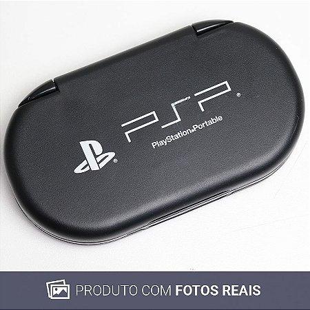 Porta Jogos Sony Preto - PSP
