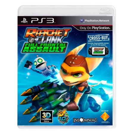 Jogo Ratchet & Clank: Full Frontal Assault - PS3