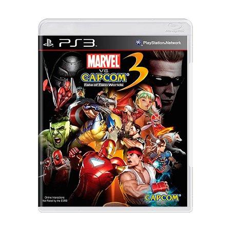 Jogo Marvel Vs. Capcom 3: Fate of Two Worlds - PS3