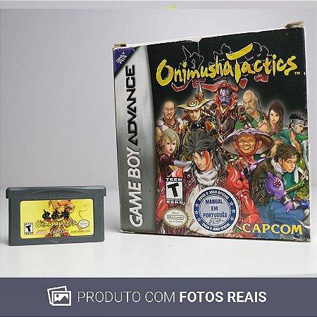 Jogo Onimusha Tactics - GBA Game Boy Advance