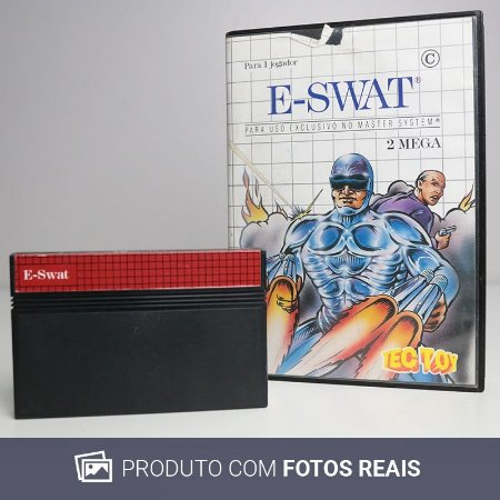Jogo E-SWAT - Master System