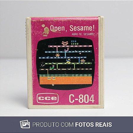 Jogo Open, Sesame! - Atari