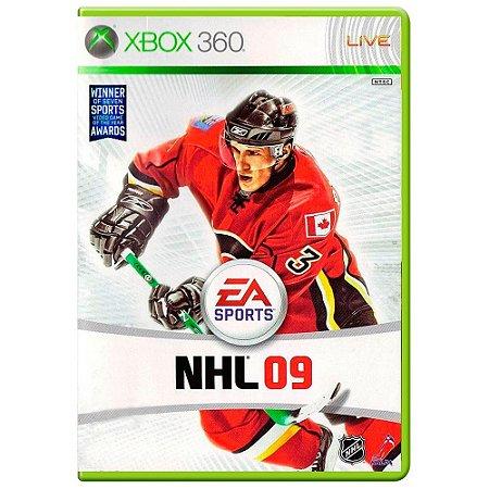 Jogo NHL 09 - Xbox 360