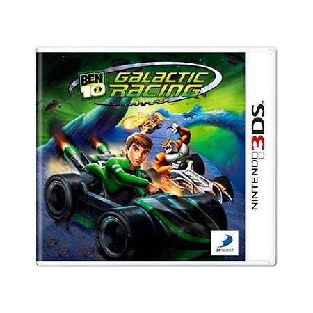 Jogo Ben 10: Galactic Racing - 3DS [Europeu]