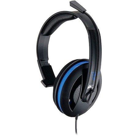 Headset Turtle Beach Ear Force P4C com fio - Mobile, PS4, PC, MAC