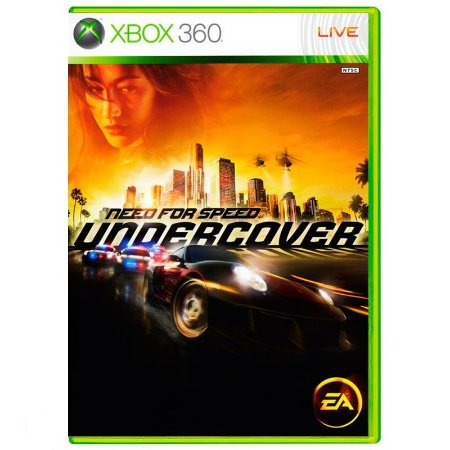 Jogo Need for Speed Undercover - Xbox 360