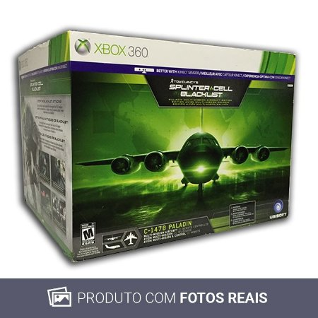 Jogo Tom Clancy's Splinter Cell: Blacklist: (Paladin Multi-Mission Aircraft Edition) - Xbox 360