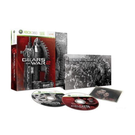 Jogo Gears of War 2 (Limited Edition) - Xbox 360