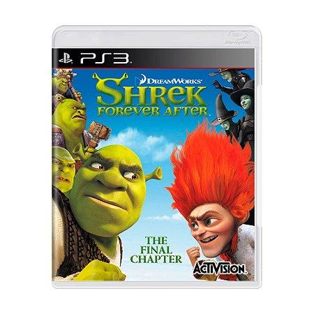 Jogo Shrek Forever After - PS3