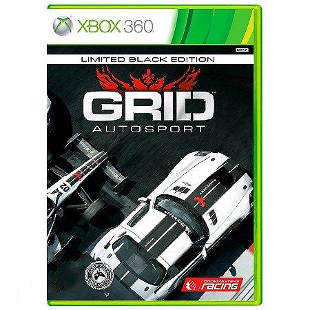 Jogo Grid Autosport (Black Edition) - Xbox 360