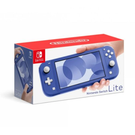 Console Nintendo Switch Lite Azul - Nintendo