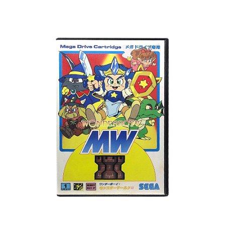 Jogo Wonder Boy V: Monster World III - Mega Drive (Japonês)