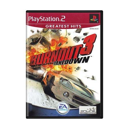 Jogo Burnout 3: Takedown - PS2