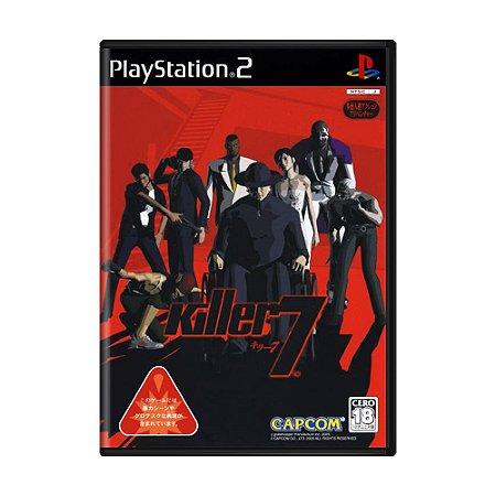 Jogo Killer7 - PS2 (Japonês)