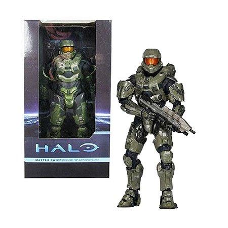 Action Figure Halo Master Chief Deluxe 18  - NECA
