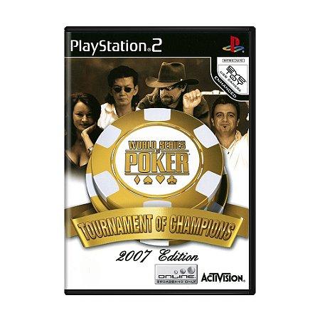 Jogo World Series of Poker: Tournament of Champions - PS2