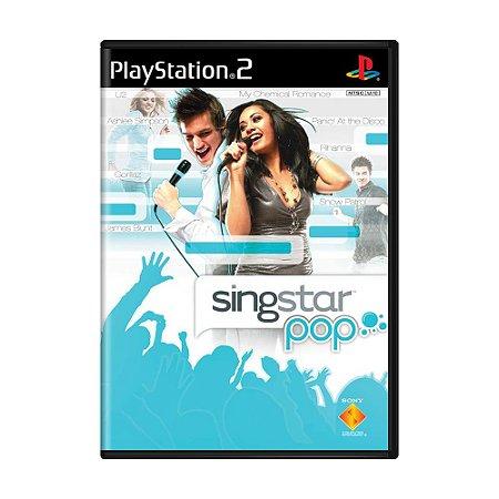 Jogo SingStar Pop (Sem Microfone) - PS2