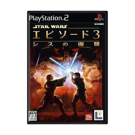 Jogo Star Wars Episode III: Sith no Fukushuu - PS2 (Japonês)
