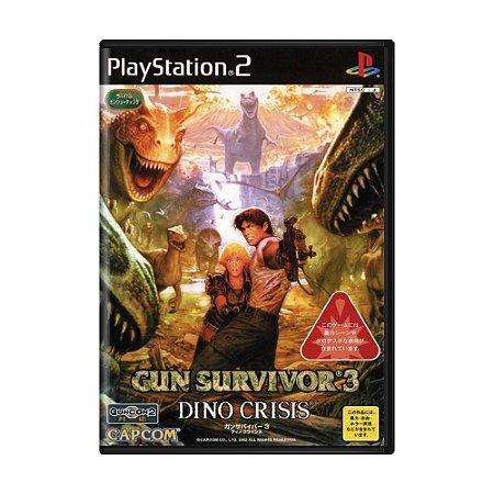 Jogo Gun Survivor 3: Dino Crisis - PS2 (Japonês)