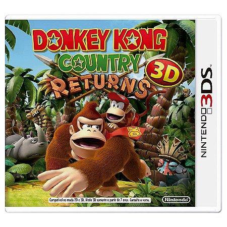 Jogo Donkey Kong Country Returns 3D - 3DS